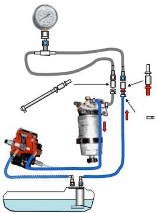 Тестирование системы низкого давления BOSCH