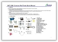 Инструкция по эксплуатации (руководство пользователя) Nextech NCT-1500 на английском