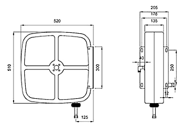 Схема катушки для раздачи густых смазок APAC 1731.510X