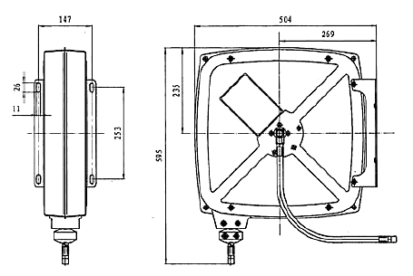 Схема катушки для раздачи масел APAC 1731.OCB