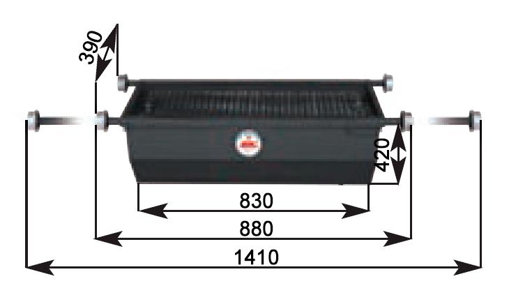 Схема установки сливной ванны APAC 1800