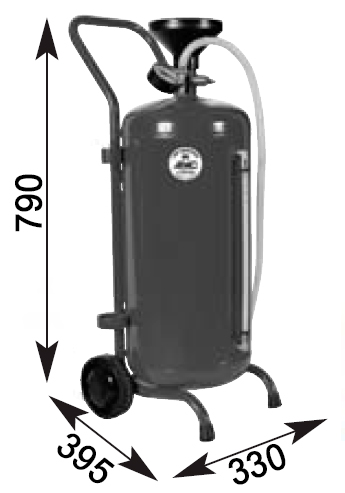 Схема установки для раздачи масла APAC 1914
