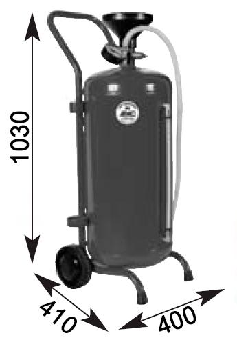 Схема установки для раздачи масла APAC 1915