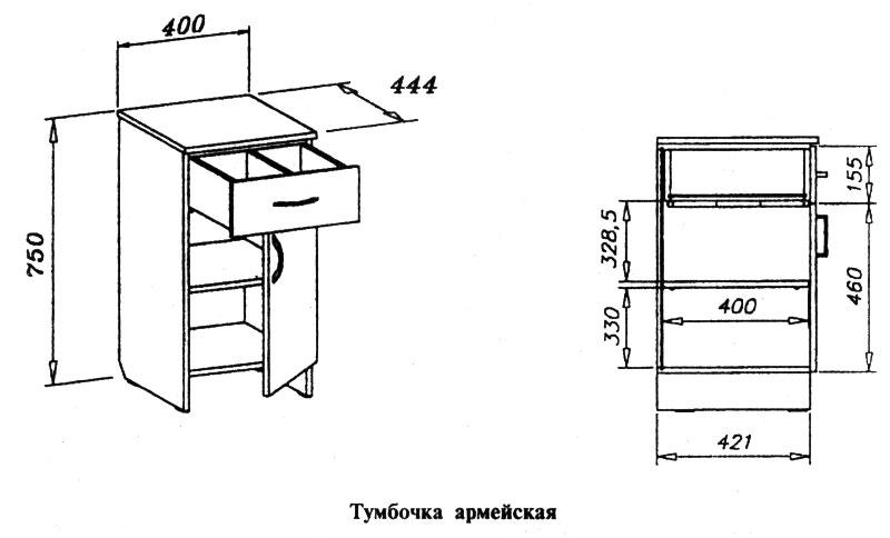 Мебель из лдсп чертежи и схемы.