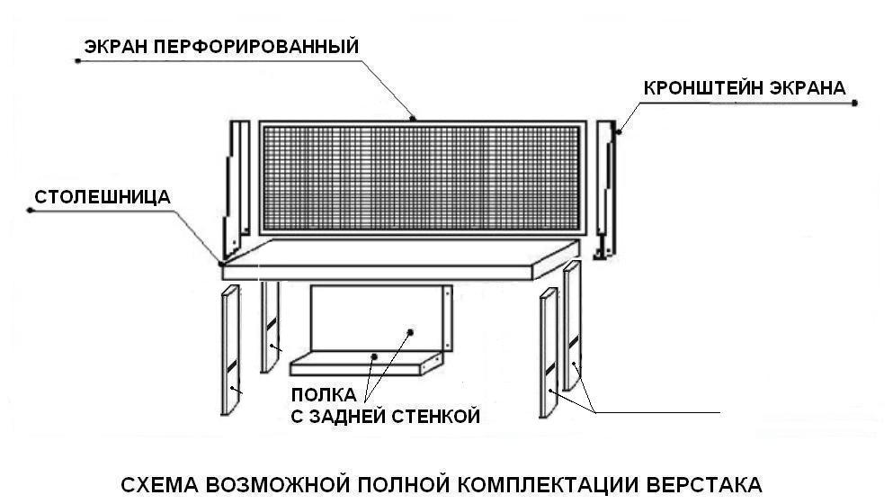 Верстак ВП-1