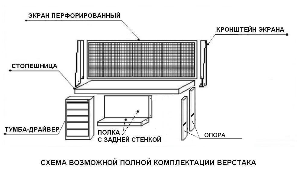 Верстак ВП-3
