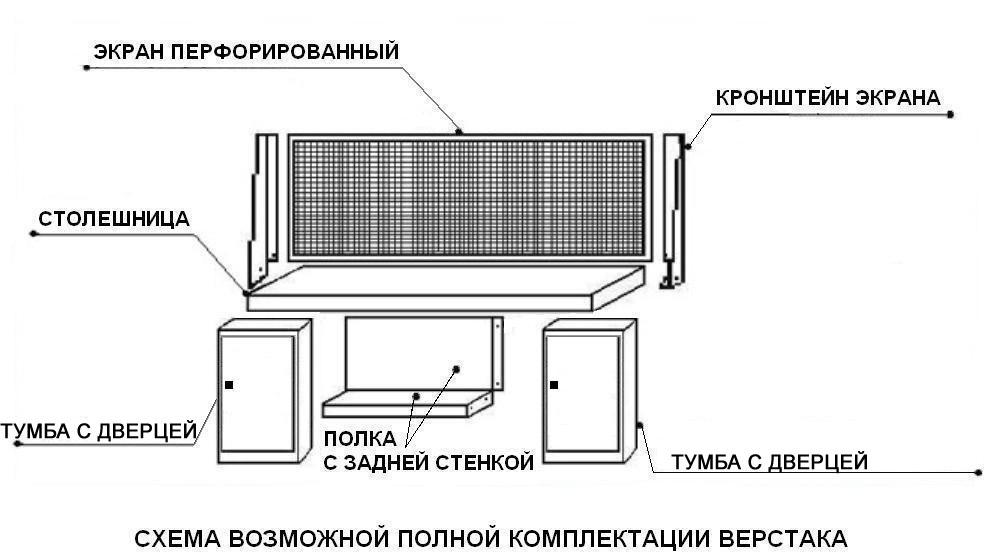Верстак ВП-5