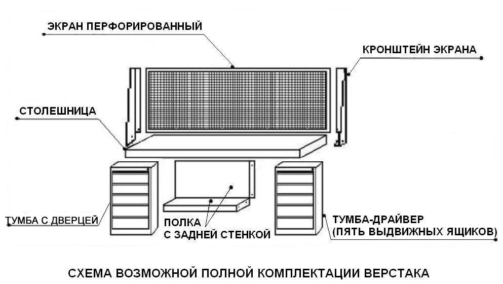 Верстак ВП-6