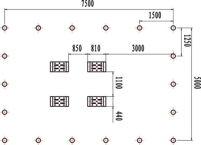 Схема монтажа напольного стапеля M10