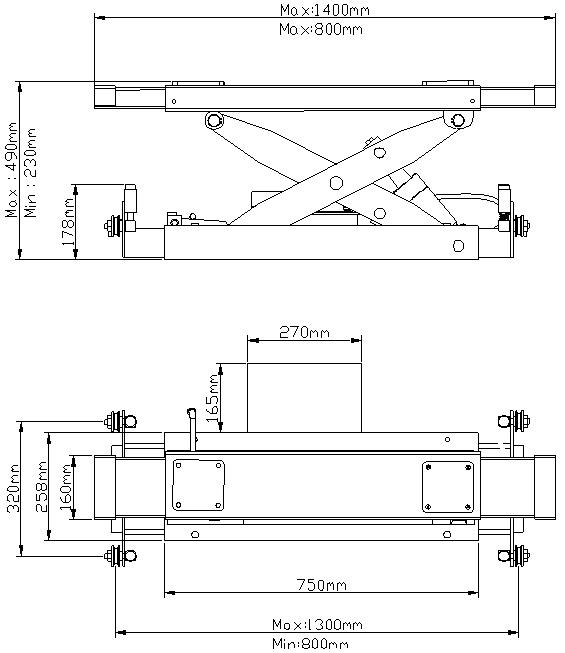 Схема траверсы Atis RJ-7A
