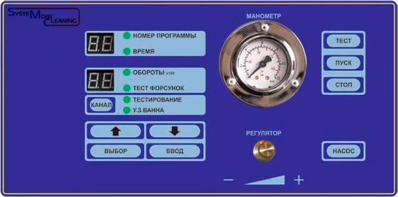Панель управления SMC-3001АE+
